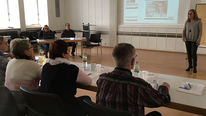 Workshop zum Thema Altersarmut