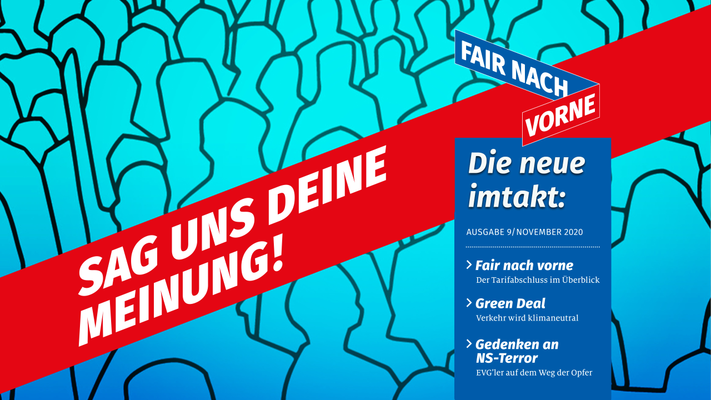 "Imtakt im November: Fair nach vorne und ""Green Deal"""